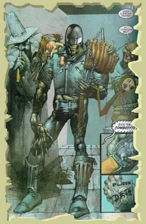 Judge Death and the Scarecrow teamup