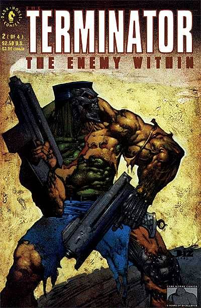 Cover to The Terminator The Enemy Within #2