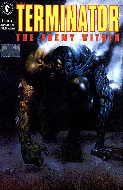 Cover to The Terminator The Enemy Within #1