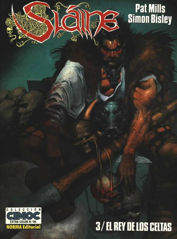Cover to Slaine #3 spanish edition
