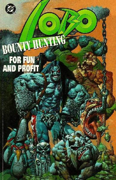 Cover to Lobo Bounty Hunting