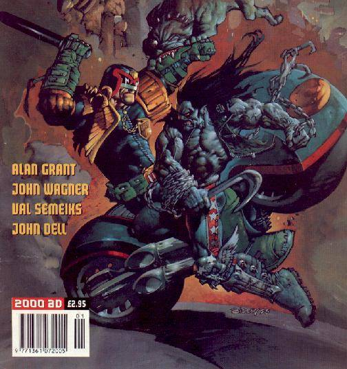 Lobo Vs Judge Dredd