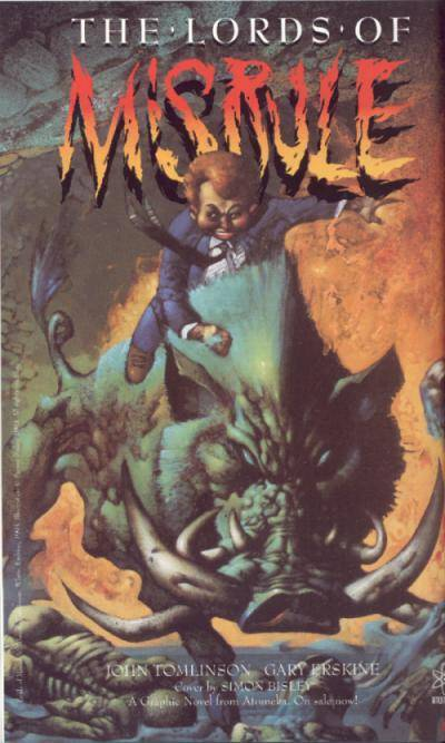 Cover to The Lords of Misrule