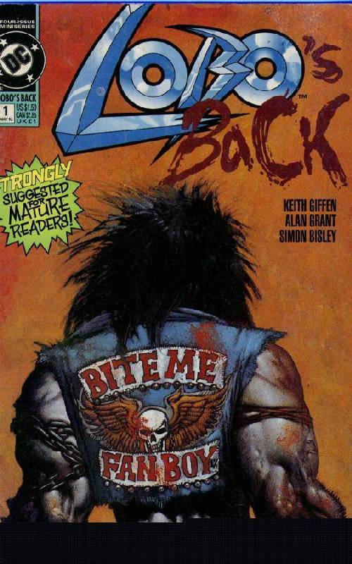 Cover to Lobo''''s Back #1