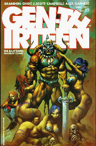 Cover to Gen 13 #1 by Simon Bisley