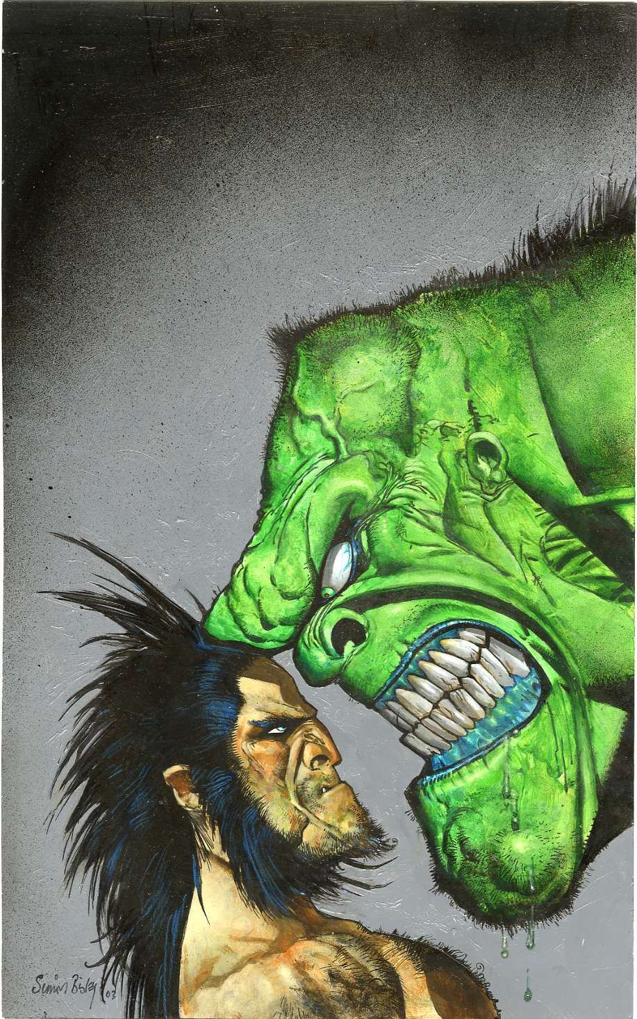 Cover to Hulk Wolverine 6 Hours #2