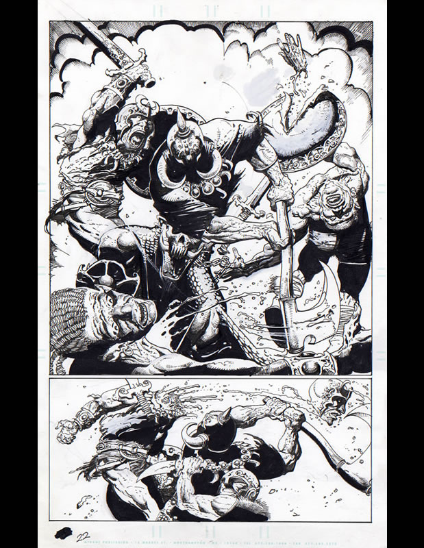 Death Dealer Page 22 by Simon Bisley
